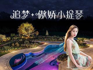 美女小提琴,视觉与听觉的双重盛宴