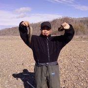 东北大叔捕鱼